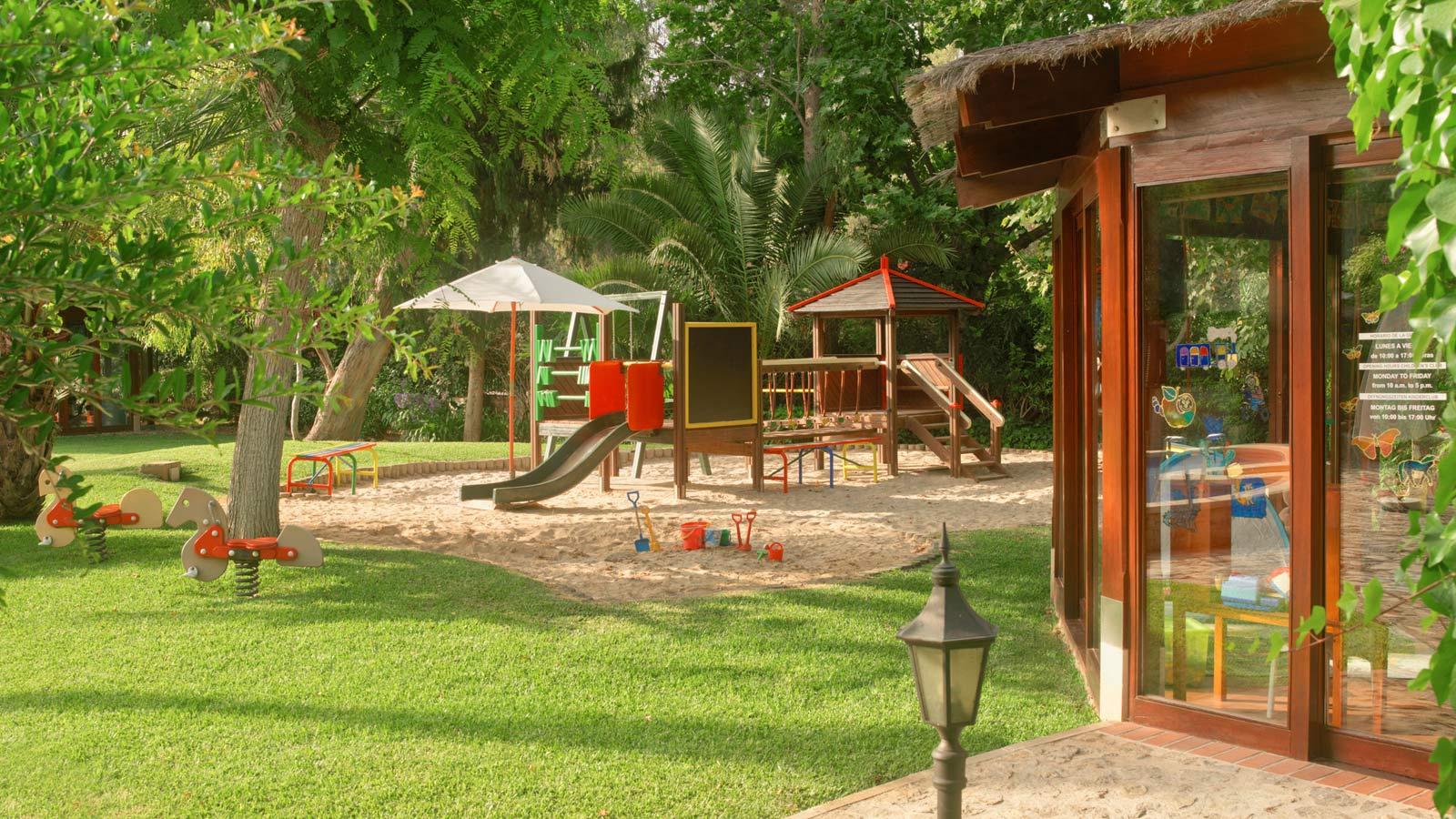Playground at Kids' Club Sheraton Mallorca